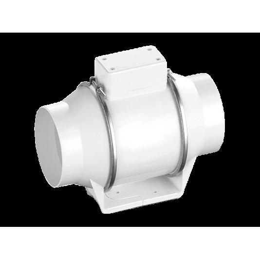 Вентилятор канальный круглый в пластиковом корпусе Ballu Machine Flow 125